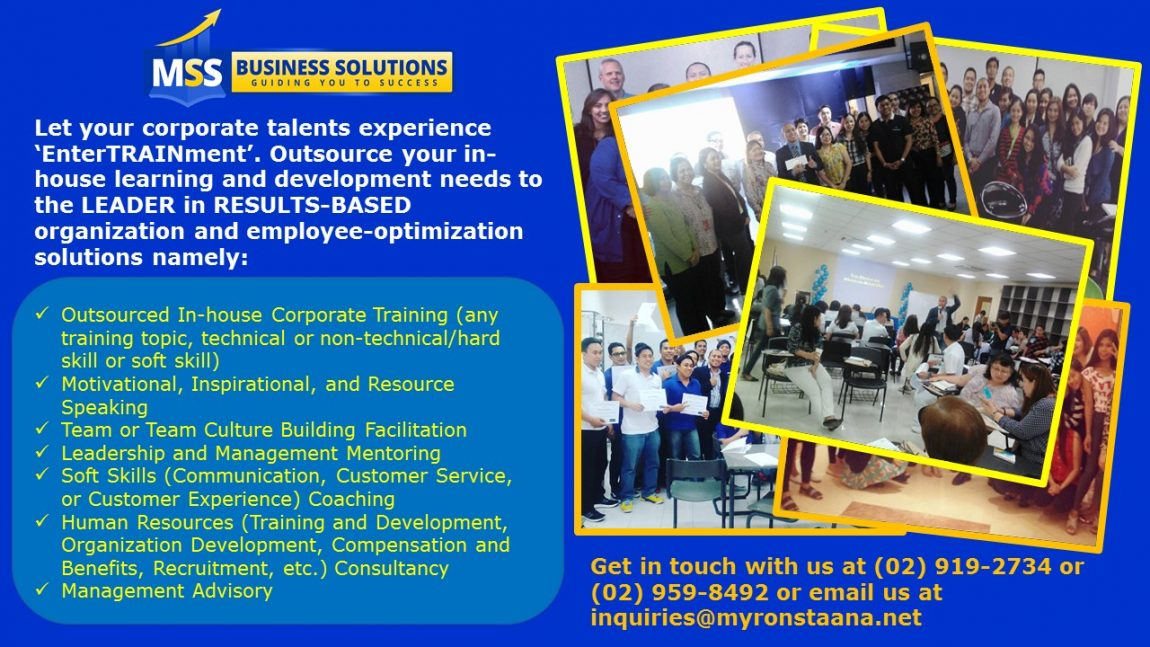 Training Provider in the Philippines