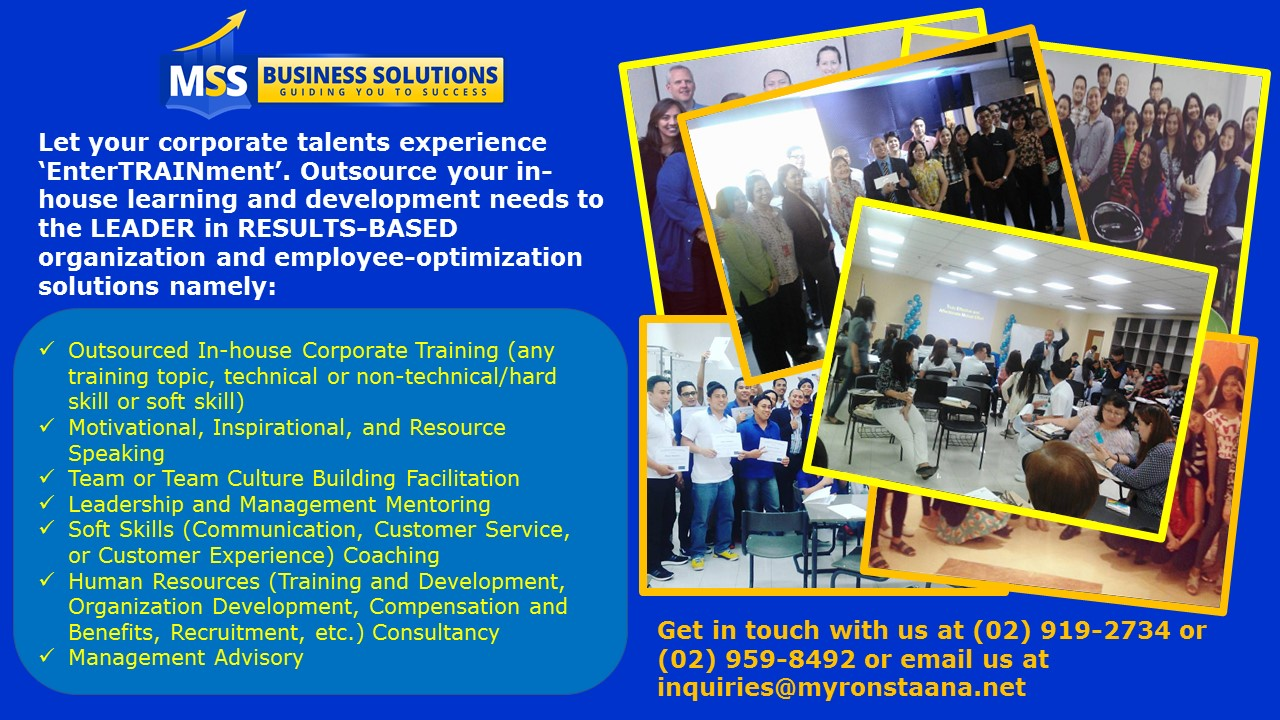 Training Company in the Philippines