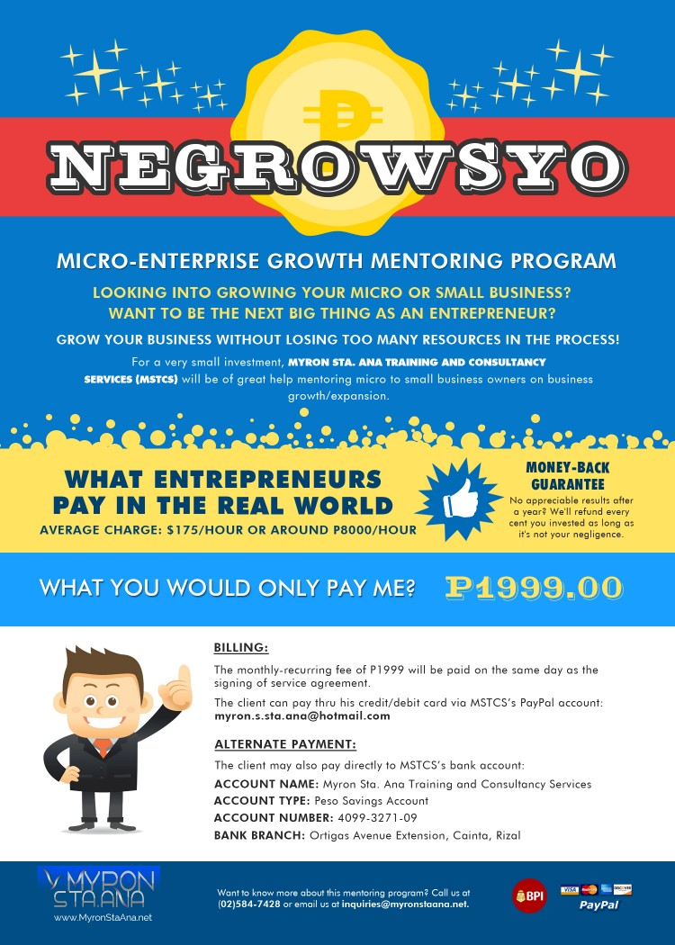 Entrepreneurship Mentoring Program in the Philippines