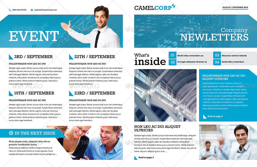 Corporate Newsletter  BesikEightyCo