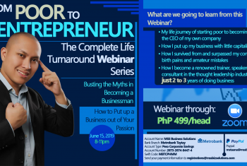 From Poor to Entrepreneur: A Complete Life Turnaround Webinar Series